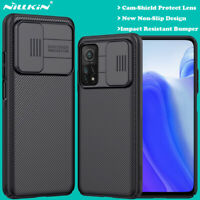 For Xiaomi Mi 10T Pro Poco X3 NFC Redmi Note 9 Pro Case Camera Slide Lens Cover