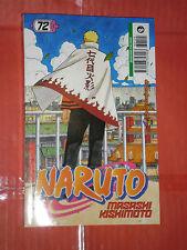 NARUTO- SERIE NERA.  N° 72 - DI:MASASHI KISHIMOTO- MANGA PANINI COMICS nuovo