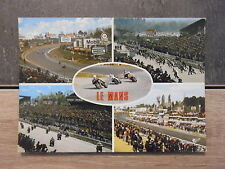 Carte Postale moto - LE MANS - La célèbre course motocycliste