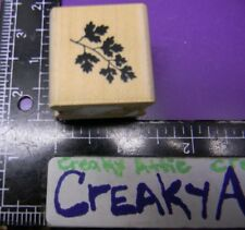 LEAFY SILHOUETTE LEAF BRANCH RUBBER STAMP PAPER INSPIRATIONS B2101