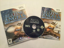 NINTENDO Wii GAME Blazing Angels: Squadrons of WWII +BOX INSTRUCTI' COMPLETE PAL