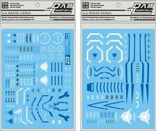 D.L high quality Decal water paste For PG 1/60 GN-0000 00R Raiser Gundam