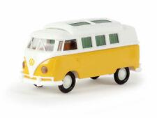 Brekina 31574 VW Camper T1b weiß gelborange Dormobil geschlossen 1:87 Neu