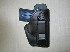 Sig P238 IWB leather holster, right hand WITH SWEAT SHIELD