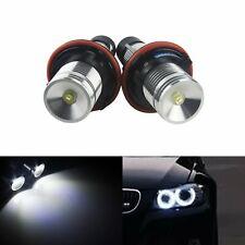 Kit Ampoule LED Angel Eyes 6W Blanc Xenon Feux de Jour BMW Serie 5 E39 E60 E61