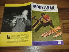 MODELLBAU und BASTELN  # 9/1961 -- Zeitschrift für DDR Heimwerker / Geburtstag ?