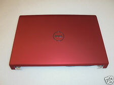 NEW Dell Studio 1557 1558 15.6'' RED LCD Back Cover w/Power Button N/O T210N