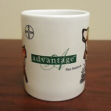 Bayer Advantage Flea Adulticide Control Coffee Mug Pet Cat Dog Animal
