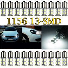 20 PCS White 1156 13 SMD LED RV Camper Trailer 1141 Interior Light Bulbs 12V