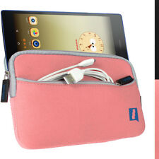 "Pink Neoprene Travel Case for Lenovo Tab 3 7"" Sleeve Protective Cover"