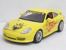 Porsche 911 GT3 Cup (1997) in blaßgelb, o.OVP, Bburago, 1:18, andere Felgen