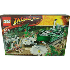LEGO Indiana Jones JUNGLE CUTTER 7626 Sealed NIB Retired