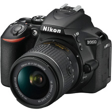 Nikon D5600 Digital SLR Camera + Nikkor 18-55mm VR AF-P Zoom Lens Kit