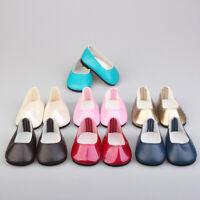 Geschenke Kinder Dolls Schuhe für Spielzeug PU Leder Zubehör für Puppen