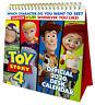 Disney Toy Story 4 Desk Easel 2020 Calendar, Page-a-Month Desk Tent Calendar