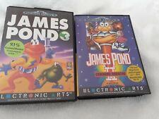 JAMES POND 2 und 3 Sega Mega Drive in OVP mit Anleitung