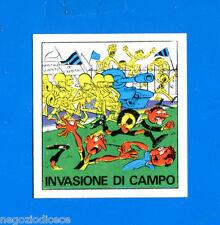 [GCG] CALCIATORI PANINI 1970-71 Figurina-Sticker n 27B - INVASIONE DI CAMPO -Rec