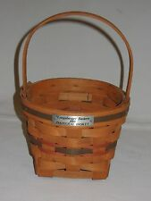 Longaberger 1989 Inaugural Basket Usa