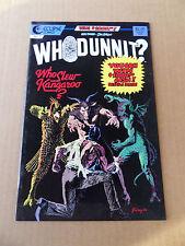 Whodunnit? 2 . D. Spiegle / P. Gulacy Cov -  Eclipse 1986 -  FN +