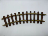 Vintage Lionel G Scale Plastic & Brass Curved Track Replacement Pieces