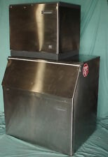 Scotsman CME656RS-32F Commercial Ice Maker w/Storage Bin