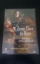 From Clare to Here DVD Irish Music At Home Or Abroad Martin Hayes Free S&H (CL1)