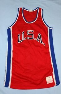 Vintage 1976 Mitchell & Ness Replica USA Basketball Jersey - Medium