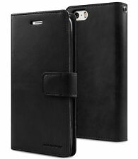 Double Leather Wallet Holder Card Flip Case Cover Strap For iPhone 7/6S Plus/ SE