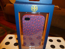 NWT 100% Authentic Tory Burch Hardshell Case for iPhone 4 in pink multi.