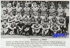 Nostalgie - Postkarte - FC Schalke 04 - Die Mannschaft + Saison 1968/1969 + TOP