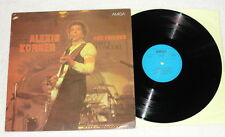 ALEXIS KORNER and Friends LP Vinyl AMIGA 1981 Blues * RARE