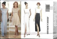 UNCUT Vintage Butterick Sewing Pattern Lined Dress 4775 Jessica Howard NEW OOP