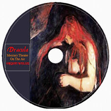 DRACULA Mercury Theater 1 Audio CD ORSON WELLES Bram Stoker RENFIELD LUCY MINA