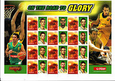 Australian Boomers On The Road To Glory -  Special Events Souvenir Sheetlet