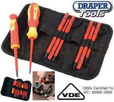 Draper 10 Pce VDE Pz / Ph / Sl con Aislamiento Intercambiable Hoja