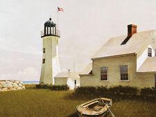 Cape Elizabeth by Doug Brega 32x23 Seascape Poster Maine Lighthouse ART PRINT