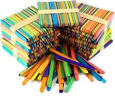 1000 Art and Craft Coloured standard Lollipop Sticks AP/410/CLS