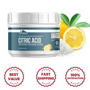 Citric Acid (2 lbs) Food Safe, Preservative, Non-GMO, Resealable Tub