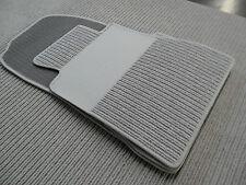 $$$ Lengenfelder Rips Fußmatten für Mercedes Benz W140 SE S-Klasse + GRAU + NEU