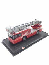 nikki sky action 2003 1/80 n48/150 camions de pompiers du monde socle fascicule