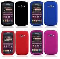 Soft Silicone Skin Cover Case for Samsung Galaxy Ring / Prevail 2 SPH-M840