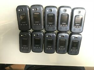 Lot Of 10 Samsung Convoy 4 SM-B690V Rugged WiFi Flip Verizon