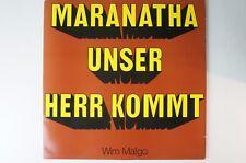 Maranatha Unser Herr kommt Dr. Wim Malgo DBS 354 LP18
