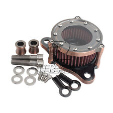 Aluminum Air filter Cleaner System for Harley Sportster 1200 883 Copper surface