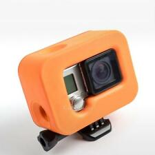Waterproof Plastic Orange Protection Floating Shell cover for GoPro Hero 5/4/3