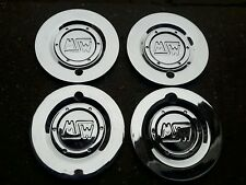 OZ MSW lega ruota centro CAP x4 M541m O.Z FORGIATO SPLIT RIM 1994 Chrome Badge