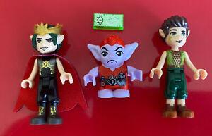 Lego Elves Goblin King 41183 Jimblin & Farran Friends Minifigures Genuine Elf