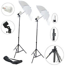Kit 2x Illuminatore Flash DynaSun FLS60 Cavalletto, Stativo, Lampada, Ombrello