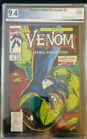 Venom: Lethal Protector #3 PGX 9.4 WHITE PAGES