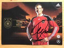 Tim Wiese 1. AK DFB 2010 Autogrammkarte original signiert
